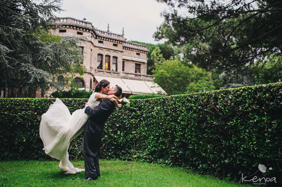 Kenoa Photography. Fotografos fotografia bodas Bilbao Bizkaia. Fotografias Boda en el Palacio San Joseren